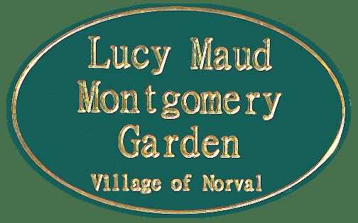 logo lucy maud montgomery garden of senses norval