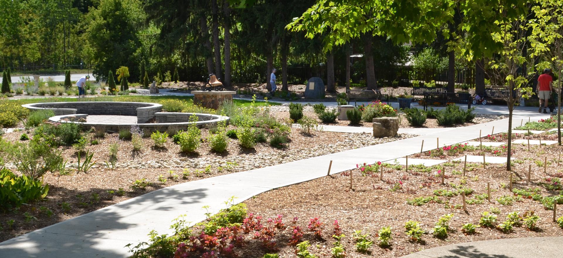 lucy maud montgomery garden norval ontario