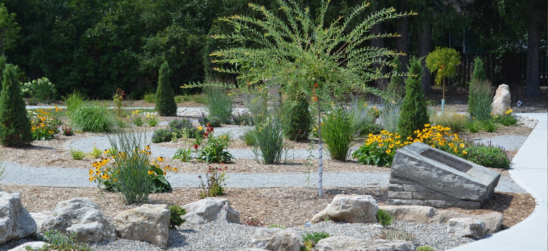 lucy maud montgomery garden spiral