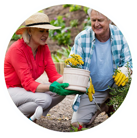 senior adult gardening programs halton hills georgetown norval